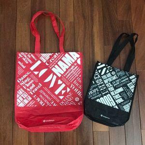 Two lululemon bags